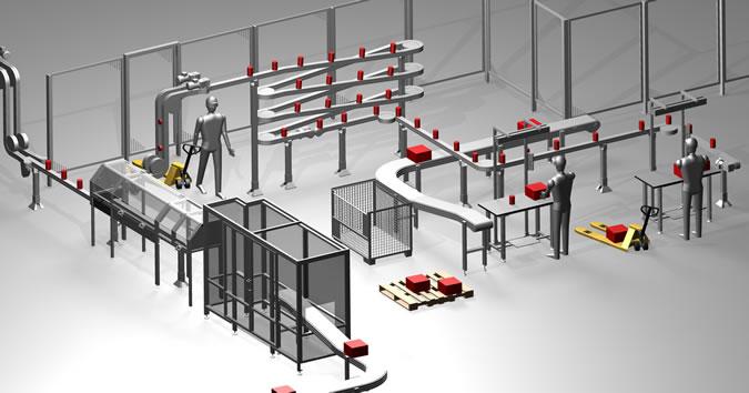 Intra Motion – modułowe systemy transportowe intramotion hallenlayout